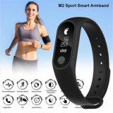 M2のスマートなブレスレットのスマートな腕時計の心拍数のモニタのBluetooth Smartbandの健康の適性の人間の特徴をもつIosの作業の追跡者のためのスマートな知性バンド