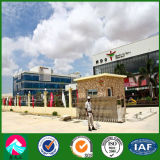 Centro commerciale prefabbricato della struttura d'acciaio