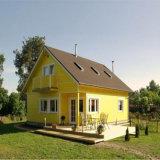 Kundenspezifisches modernes helles Stahlkonstruktion-vorfabriziertes Haus