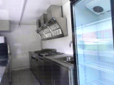 Stock-und Eiscreme-Nahrungsmittelkarren-Förderung