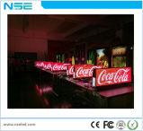 Publicidade Slim P2.5 Display LED de táxi com alto brilho
