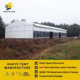 500 places tentes de mariage de l'usine de verre haute à Shanghai