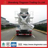 Sinotruk HOWO 10 ruedas de camiones hormigonera con capacidad cúbica de 10