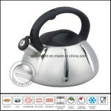 Utensilios de cocina 3 Step Capsule Bottom Stainless Steel Whistling Kettle