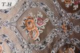 Tissu floral de jacquard de capitonnage sans Chenille