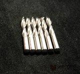 Fraises en bout coniques par carbure de nez de bille de commande numérique par ordinateur pour l'aluminium