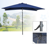 Зонтик патио мебели сада алюминиевый