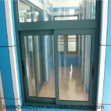 Moderner Entwurf, der Aluminiumlegierung-Fenster schiebt