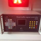 16 fase 44 LCD van het Controlemechanisme van het Verkeerslicht van de Output het Scherm