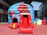 スパイダーマンのスライドChb596が付いている膨脹可能な跳ね上がりの家
