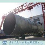 Polymère renforcé de fibre de plastique ou de tuyau de PRF
