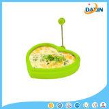 Molde fritado do ovo do produto comestível da forma do coração silicone Handmade elegante