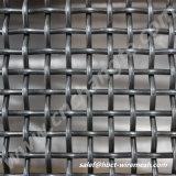 Rizado de acero inoxidable malla de alambre y tela