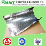 Revêtement en aluminium soutenu par Kraft de canevas de clinquant