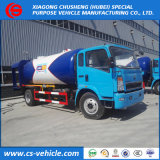 HOWO 4X2 10000liters LPG füllender Zufuhr-LKW5tons LPG Bobtail für Verkauf