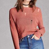 2018명의 새로운 숙녀 불규칙한 얇은 봄 가을 편물 스웨터 스웨터 도매