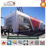 Cube Double Decker Tenda House para exposições e sala de exposições