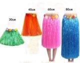 Многоцветные Hawaiian шелк фо цветы Хуле травы красоты юбка для купальный костюм, событий, дни рождения, Пляж праздник танца платье детей детей в возрасте