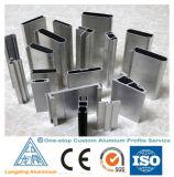 Profils en aluminium d'extrusion pour le guichet de tissu pour rideaux/profil en aluminium