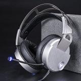 Gokken van de Hoofdtelefoon USB van het Ontwerp van het metaal het Stereo met Microfoon (k-V10)
