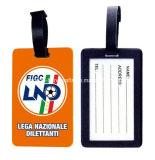 Высокая бирка багажа стикера ярлыка PVC Qualitpromotional резиновый (HQ-1554)