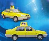 Sided P5mm carro telhado Sinal duplo Display LED / Taxi LED Top de Publicidade de Vídeo