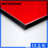 Comitato di parete di plastica di alluminio con gli entrambi lacca rivestita della bobina del lato