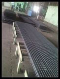 Contenedor de 20 pies de cargar/rejilla de acero de envío