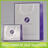 Высокое качество бумаги украшения сумку с лентой для обработки