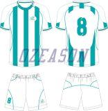 Preiswerte kundenspezifische Großhandelssportkleidung sublimiertes Fußball-Hemd