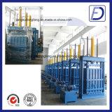 Garantía de calidad de papel hidráulica vertical de la prensa de la materia textil de la botella del animal doméstico
