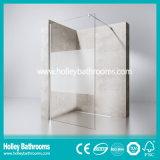 Estilo Europeu Walk-in Door Ground Glass Simple Shower Screen (SE716H)