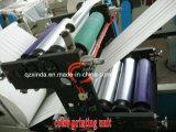 Máquina de papel dobrada V da máquina do tecido facial do Caixa-Desenho