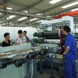 Ligne à une seule couche de machine de production d'extrusion de calendrier du panneau trois de feuille du PE pp