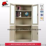 Haltbarer Dienststahlbüro-Archivierungs-Bildschirmanzeige-Speicher-Metalldatei-Bücherschrank-verschließbarer Schrank