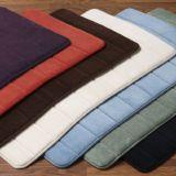 3D Afgedrukte Badmatten van de Badmatten van de Douche van het Toilet van de Badkuip van het Schuim van het Geheugen van het Kussen van het Af:drukken Sublim van de Spons Moderne