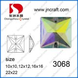 Dz-3068 Ab cuadrado Color coser en las piedras para la decoración de prendas de vestir