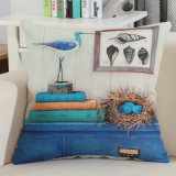 2018 Signal Quality Throw Pillow Puts Linen Cotton Cushion Cover Printed Squarae 18 Inches