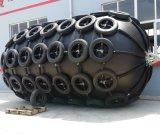 Marineyokohama-Schutzvorrichtung mit Kette und Reifen