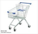 80L het Europese Boodschappenwagentje van de Stijl voor Supermarkt