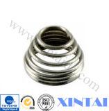Source de bout droit de source en métal de source d'acier inoxydable