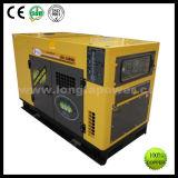 générateur diesel refroidi à l'eau triphasé silencieux superbe à faible bruit de 10kw 12kVA