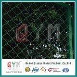 Гальванизированное звено цепи диаманта ограждая загородку звена цепи PVC Coated