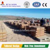 Vendita calda 2016 in nuova macchina per fabbricare i mattoni rossa vuota del cemento dell'Africa