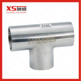 T uguale Butt-Weld sanitario dell'acciaio inossidabile SS304