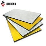 Revestimiento de PE Exture Ideabond cepillado Panel Composite Panel de aluminio (AE-32B)