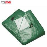 250のGSMの緑の防水頑丈なポリエチレンファブリックTarpaulin/PE Tarps