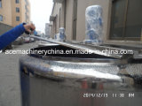 1000L Elektrisch roestvrij staal/Stoom die Mengt de Aseptische Tank van de Tank verwarmen