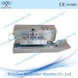 Máquina plástica del lacre de la botella de la inducción continua automática