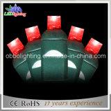 Zeichenkette-Lichter der Niederspannungs-10m100L bunte angeschaltene im Freien LED